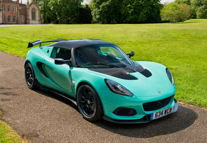 Lotus Elise 2019 Cup 250 Front