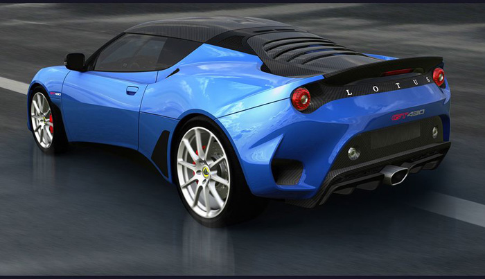 Lotus Evora 430 backside